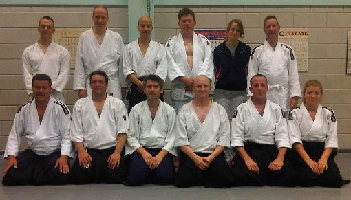 Aikido Centrum Zoetermeer groepsfoto
