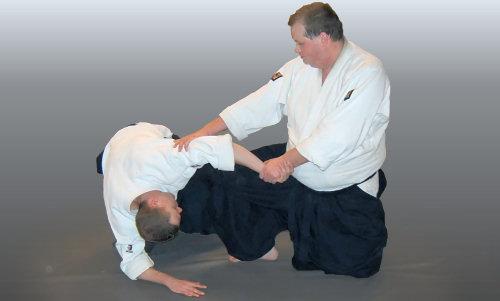 Dave vd Berg, docent Aikido Centrum Zoetermeer