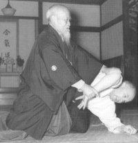 O Sensei, de oprichter van aikido