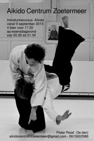 Poster Aikidocentrumzoetermeer3